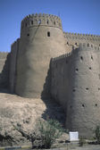 Moslem,medieval,fort,fortress,adobe,castle,walls,desert,defense,tower — Stock Photo