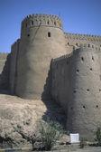 Moslem,medieval,fort,fortress,adobe,castle,walls,desert,defense,tower — Stock Photo