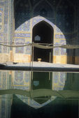 Reflection pool, Emam Mosque — Stock Photo