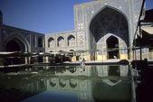 Reflection pool, Emam Mosque — Stock Photo
