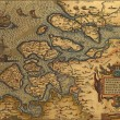 Stock Photo: Antique Map of Netherlands