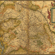 Antique Map of Germany, — Stock Photo #25290101