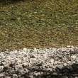 Stock Photo: Smooth river rocks