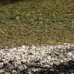 Smooth river rocks — Stock Photo