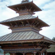 Pagoda temple on outskirts of  Kathmandu — Stock Photo