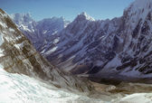 High peaks and glaciers i — Stock Photo