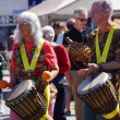 Okanagan Drum group performs — Stock Photo
