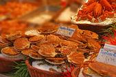 新鲜的海鲜 — 图库照片