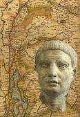 古典罗马头 — 图库照片
