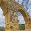 Pont du Gard Romaqueduct — Stock Photo #36747017
