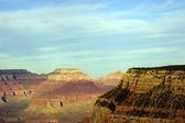 Near Maricopa Point, late afternoon view into the Colorado River — Stock Photo