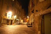 Empty streets in the old town — Stock Photo