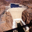 Hoover Dam, Lake Mead and Colorado River — Stock Photo #37369875