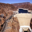 Hoover Dam, Lake Mead and Colorado River — Stock Photo #37369877