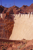 Face of Hoover Dam, Lake Mead , Colorado River — Stock Photo