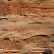 Постер, плакат: Detail cross current layers of red sandstone