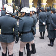Stock Photo: Female transit police at parade