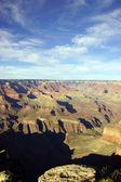 Late middag weergave in de colorado river gorge — Stockfoto