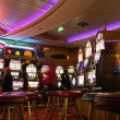 Casino on cruise ship — Stock Photo