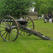 Confederate artillery — Stock Photo #37978943