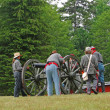 Confederate artillery — Stock Photo #38036243