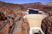 Hoover Dam, Lake Mead and Colorado River — Stock Photo