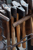 Tools of the blacksmith — Stock Photo