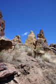 Craggy rhyolite ridge  — Stock Photo