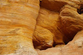 Detail sedimentary rock formations — Stock Photo