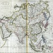 Antique map of Asia from 18th century — Stock Photo #45487785