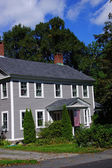 Classic New England home — Stock Photo
