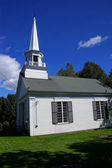 Classic New England church — Stock Photo