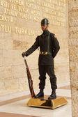 солдат на изменение церемонии гвардии — Стоковое фото