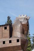 Trojan Horse replica — Stock Photo