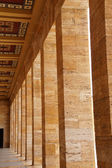 Heroic monumental architecture  of Ataturk Mausoleum — Stock Photo