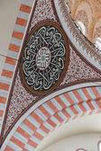 Decoración interior de la mezquita de suleymanie — Foto de Stock