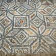 Detail of geometric mosaic walk — Stock Photo #48526349
