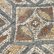 Detail of geometric mosaic walk — Stock Photo #48526375