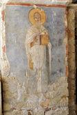 Fresco of Saint Nicholas  — Stock Photo