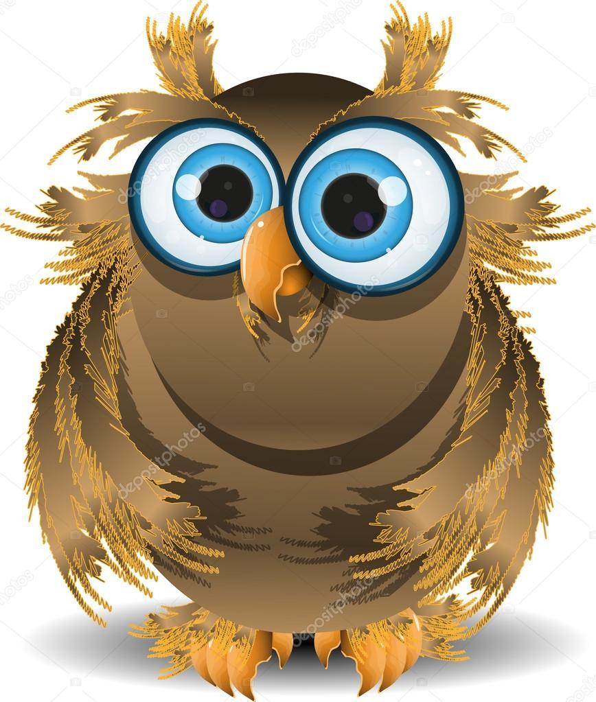 мудра сова анимационная картинка