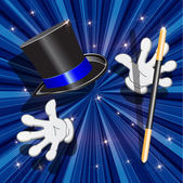Tool magician — Stock Vector