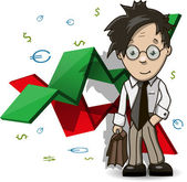 Financial Analyst — Stock Vector