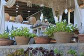 Beautiful summer terrace — Stock Photo