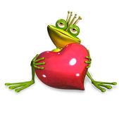 Princess frog — Stock Photo