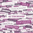 Stock Vector: AUTHORSHIP.