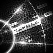 BUSINESS PLAN. — Stock Vector