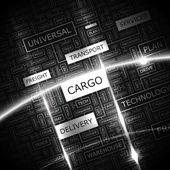 CARGO. — Stock Vector