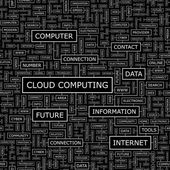 Le cloud computing. — Vecteur