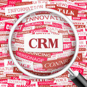 CRM. — Stock Vector