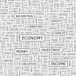 ECONOMY. — Stock Vector